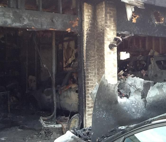 Garage Fire in Plainfield, IL  Before