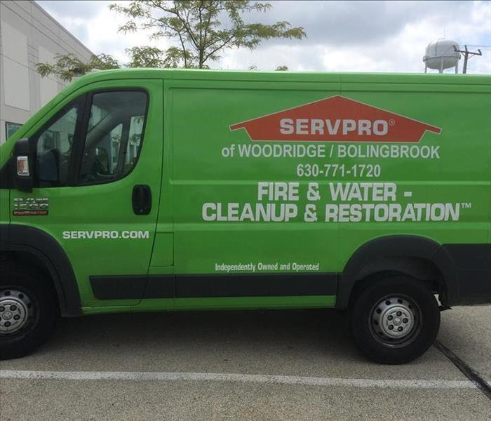 General  For Immediate Service in Woodridge and/or Bolingbrook IL, Call SERVPRO