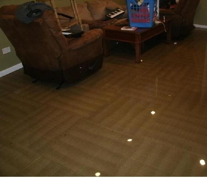 Water Damage We Specialize in Flooded Basement Cleanup