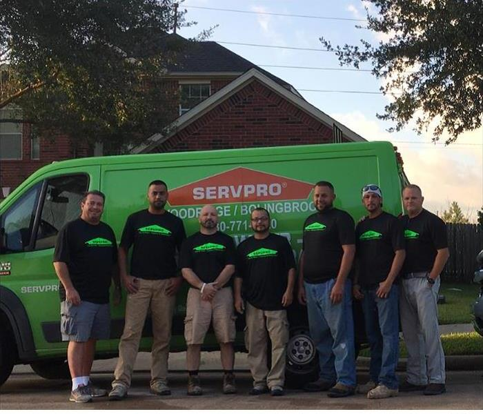 Water Damage When Storms or Floods Hit Bolingbrook or Woodridge IL, SERVPRO is Ready